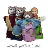 Кукольный театр Три медведя (4 перс.), упаковка пакет, арт. 11064