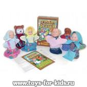 Кукольный театр `Маша и медведь, 6 персонажей, в коробке, арт. 11203