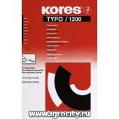 Бумага копировальная черная, 20 листов, Kores 1200, арт. 2556042