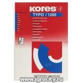Бумага копировальная синяя, 100 листов, Kores 1200, арт. 2556039