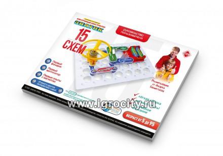 Электронный конструктор знаток набор а 15 схем