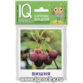 """Карточки для детей """"IQ малыш. Что растет в саду"""" Айрис-Пресс, арт.26017"""