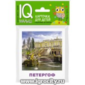 """Карточки для детей """"IQ малыш. Достопримечательности России"""" Айрис-Пресс, арт.26064"""