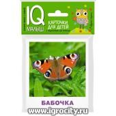 """Карточки для детей """"IQ малыш. Насекомые"""" Айрис-Пресс, арт.25951"""