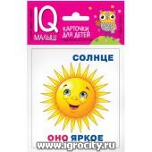 """Карточки для детей """"IQ малыш. Он, она, оно, они"""" Айрис-Пресс, арт. 25734"""