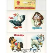 """Карточки двухсторонние """"Домашние животные"""", Ракета, арт. Р-2149"""