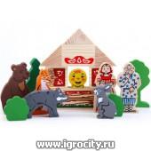 Конструктор «Сказки: Колобок», 18 дет., арт. 4534-2