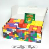 """Кубики для всех """"Логические кубики"""" набор из 5-ти вариантов (Корвет)"""