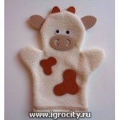 """Кукла на руку """"Корова"""", арт. Ф023"""