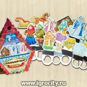 """Набор фигур для кукольного театра """"Морозко"""", Полноцвет, арт. 163156-PDP"""