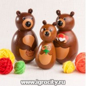 """Набор пальчиковых игрушек """"Три медведя"""", арт. V0648"""
