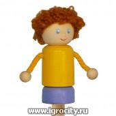 """Пальчиковая игрушка """"Мальчик"""", Вальда, арт. 72ПАЛ"""