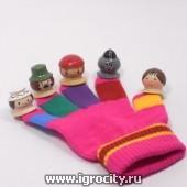 """Перчатка-сказка """"Красная шапочка"""" RNToys, цвет перчатки в ассортименте, арт. Д-700"""