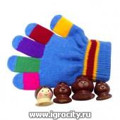 """Перчатка-сказка """"Три медведя"""" RNToys, цвет перчатки в ассортименте, арт. Д-702"""