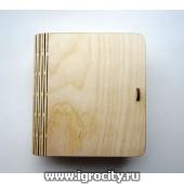 Шкатулка-книжка (14 см14 см4,5 см)